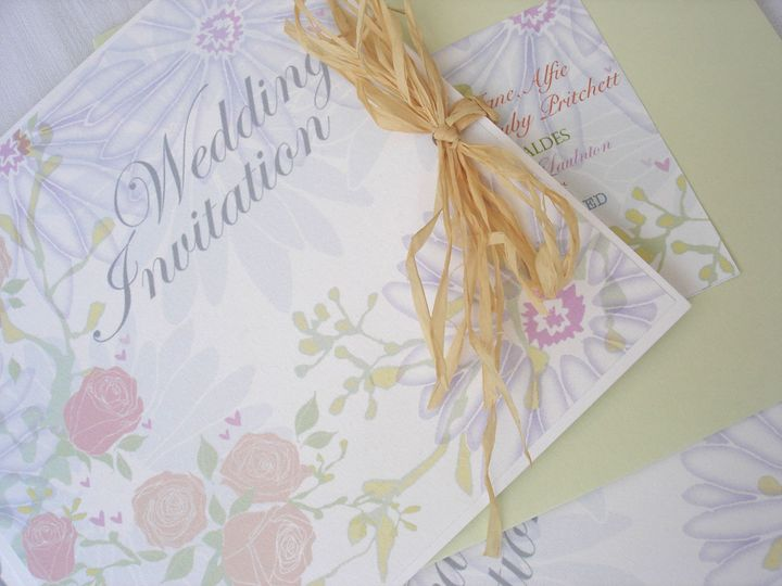 Summer Wedding Invitation