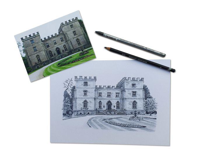 Sketch - Clearwell Castle