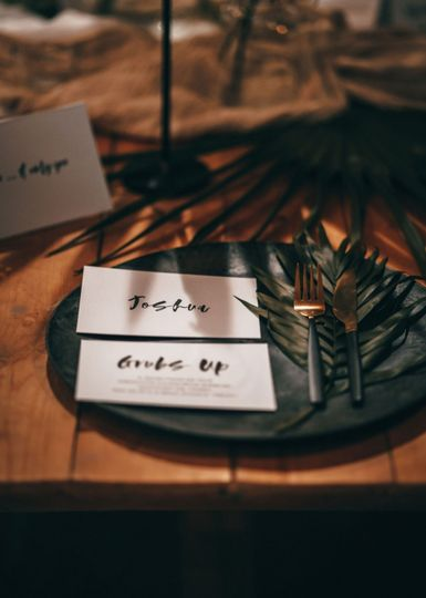Botanical wedding