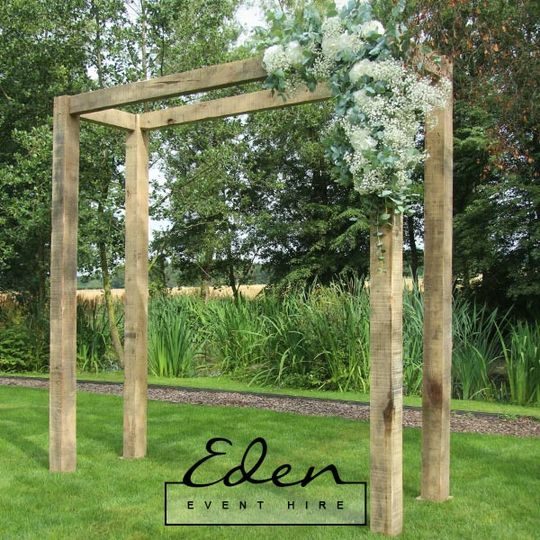 Oak Wedding Arch