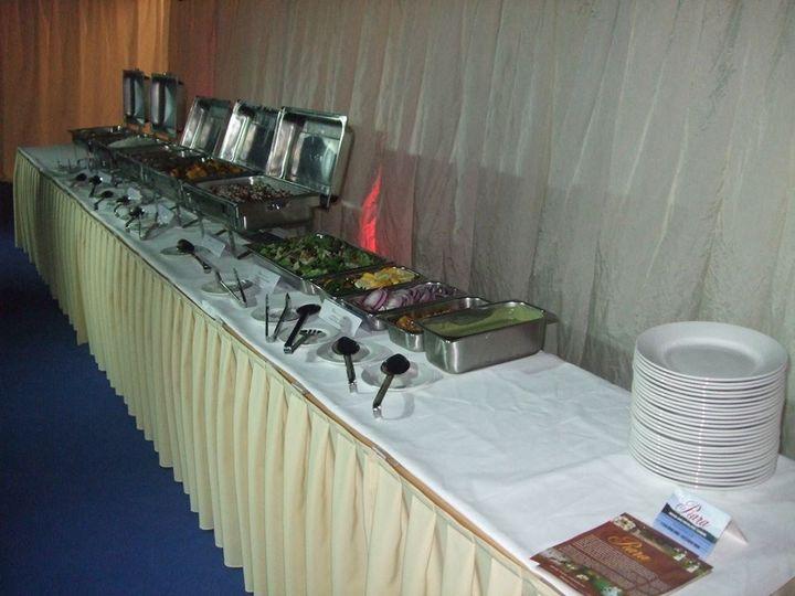 RARA buffet layout