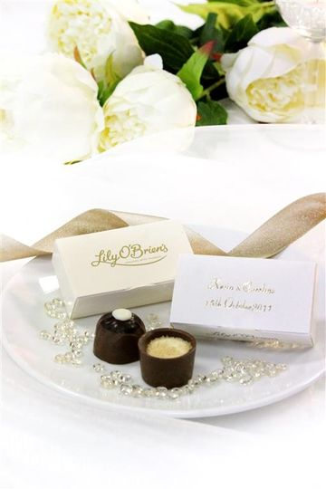 Favours Lily O'Brien's Chocolates 1
