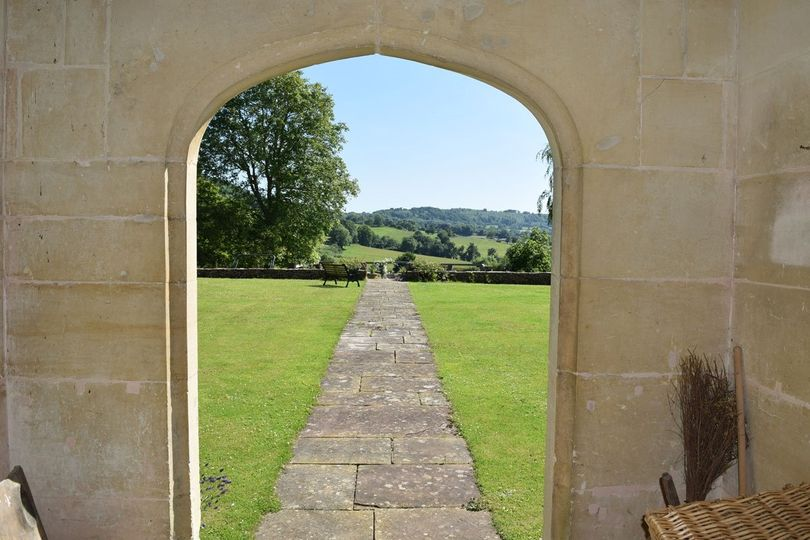 Painswick Lodge view from Great Hall