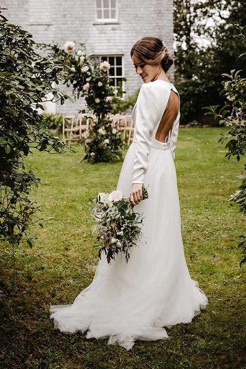 Treseren stunning outdoor wedding