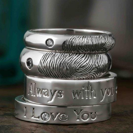 stackof rings flat frog hand engraved 4 110162 157563246417735