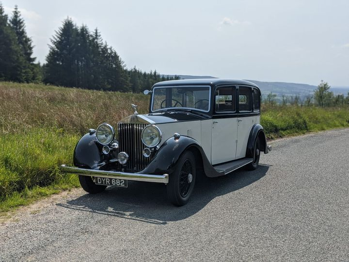 Our 1937 Rolls Royce