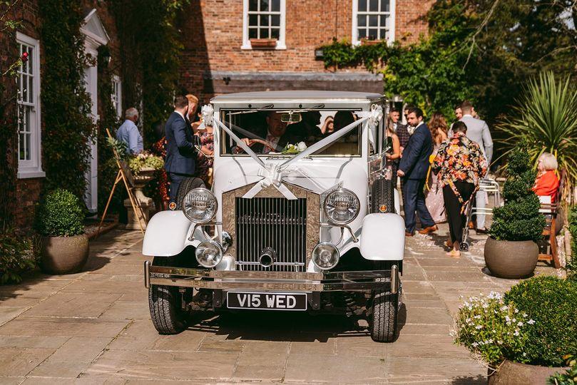 Wedding car bardney hall