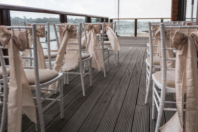 Vows on the deck