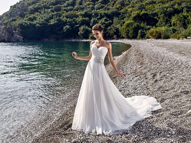 A-line, sweetheart dress