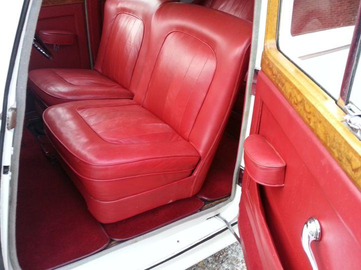 Interior of Bentley