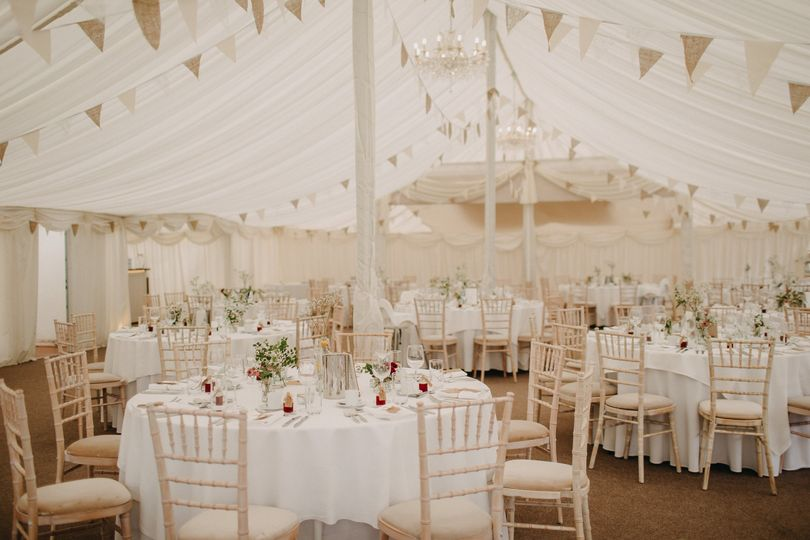 Barrington Hall - Internal Marquee