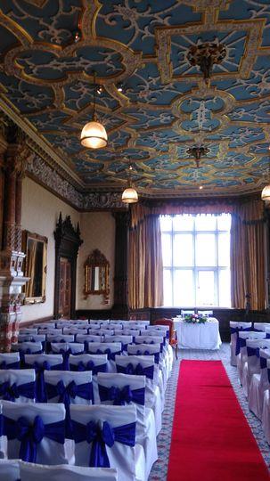 The stunning Crewe Hall