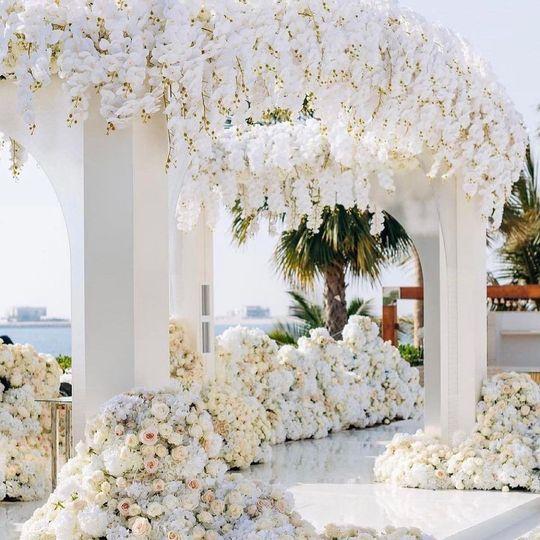 Lovely floral decor