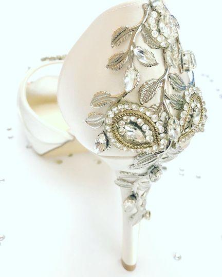 Unique shoe jewels