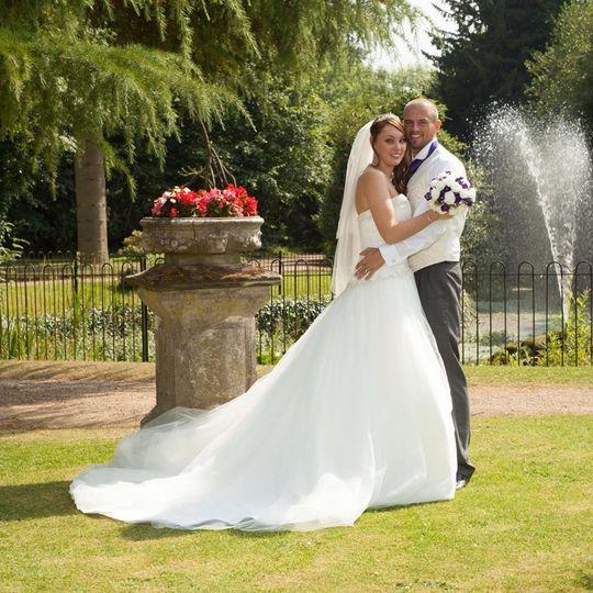 Hannah's stunning wedding