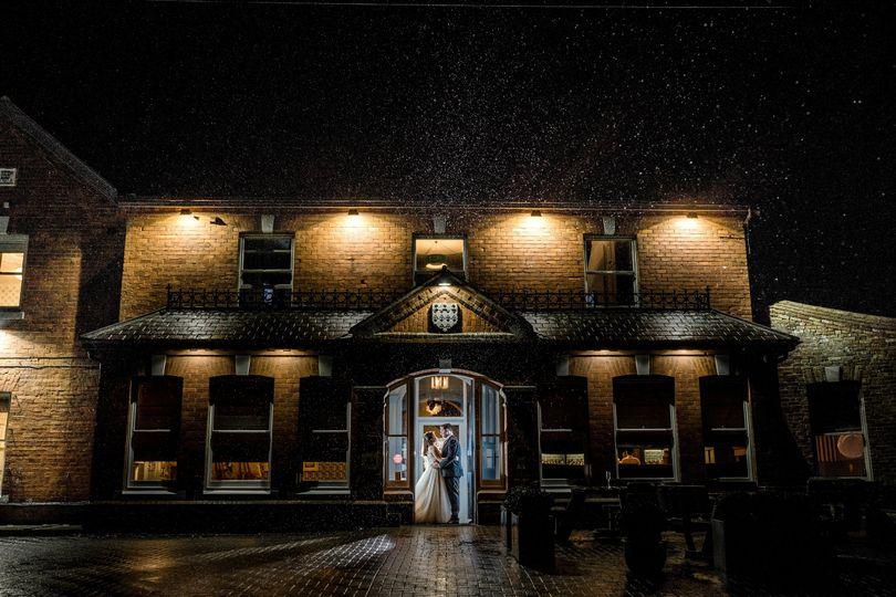 Titchwell Manor at night
