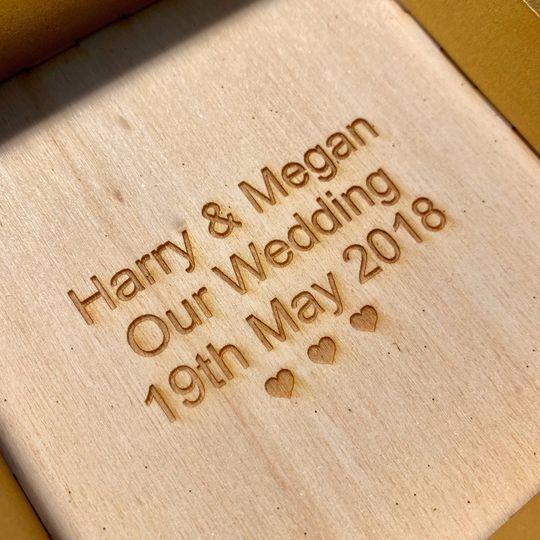 Personalised engraving