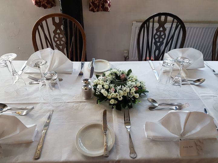 Table centres offered