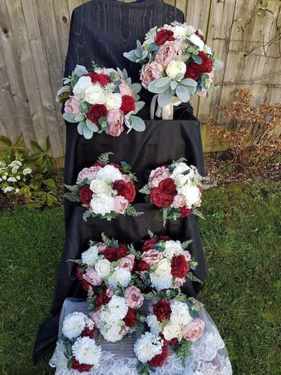 Bouquets start from £40