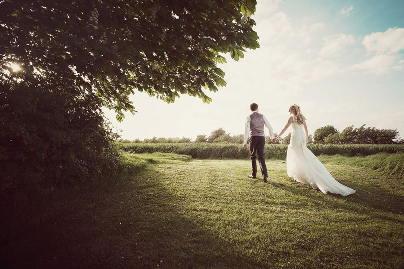 wedding at southend barns bride and groom sunset 4 170249