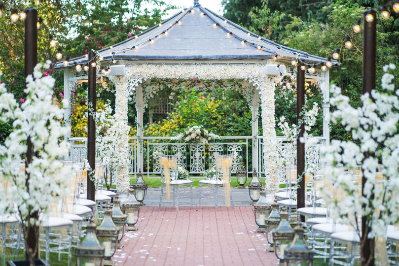 The Pavilion outdoor ceremony