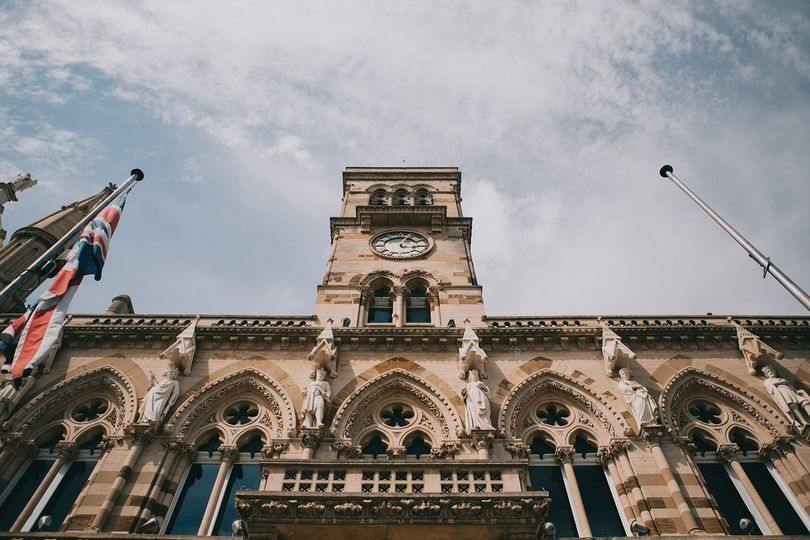 Guildhall, Northamptonshire, UK