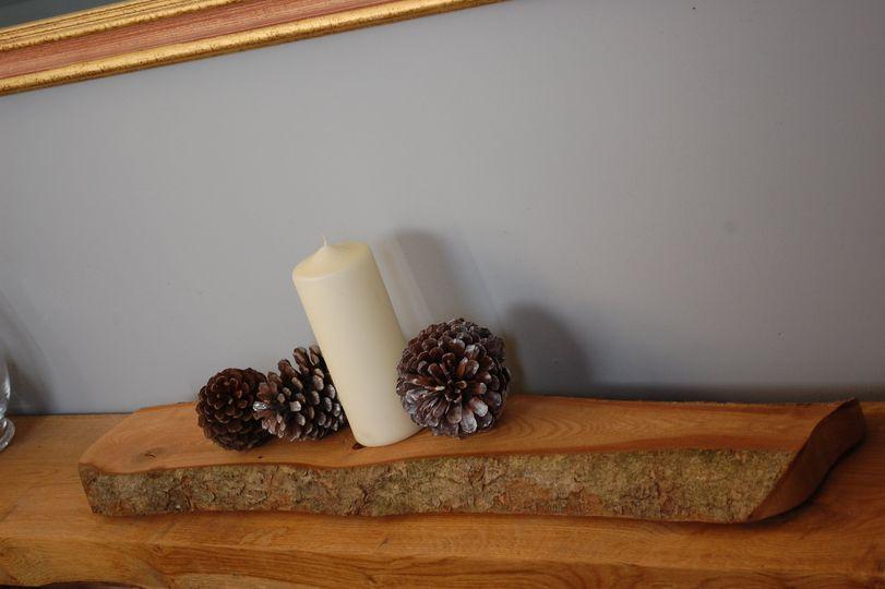 Top table wood slice