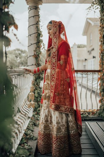 Beautiful wedding garments