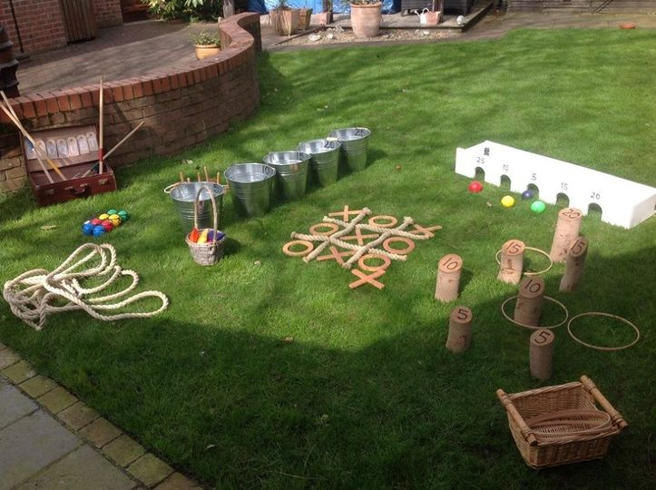 Lawn games for weddings