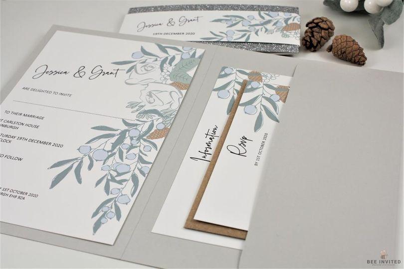 Stationery Bee Invited Wedding Stationery 9
