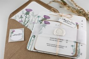 Bee Invited Wedding Stationery