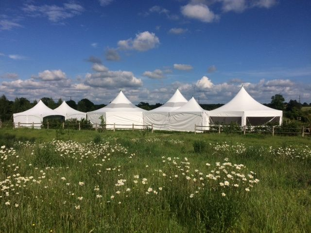 Multiple marquees