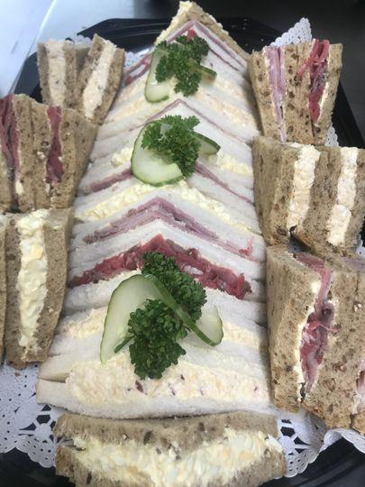 Classic sandwich with a twist
