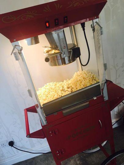 "Popcorn Machine "" Hire"""