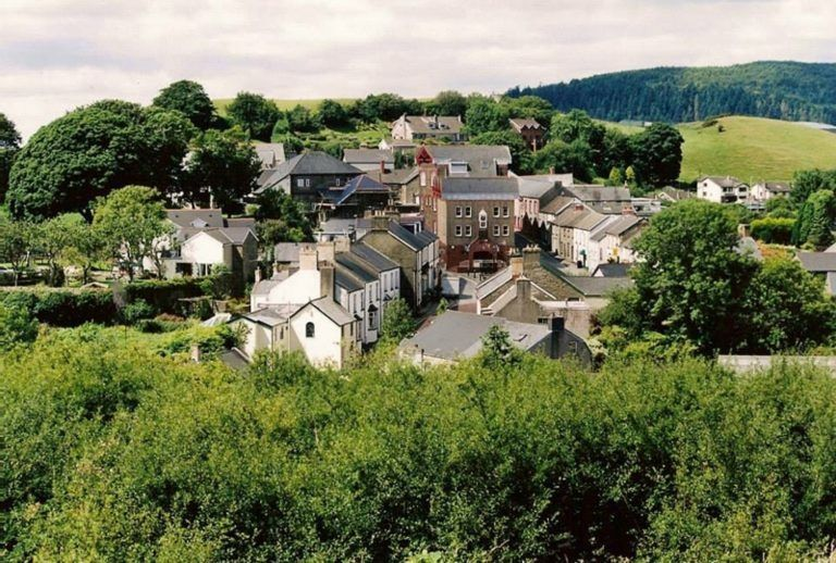 Panoramic views from Llantrisant Guildhall