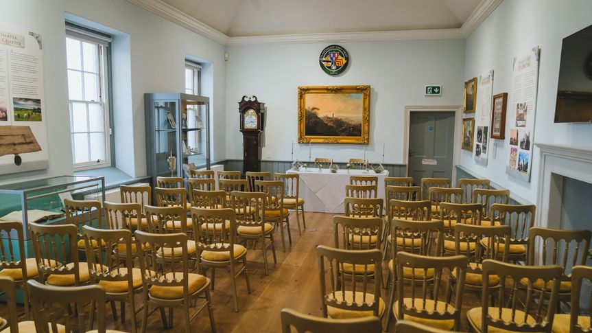 Wedding ceremonies in Llantrisant Guildhall Court Room