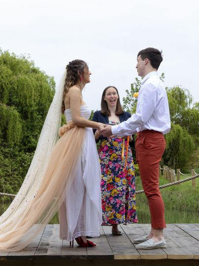 Marrying Ollie and Liv