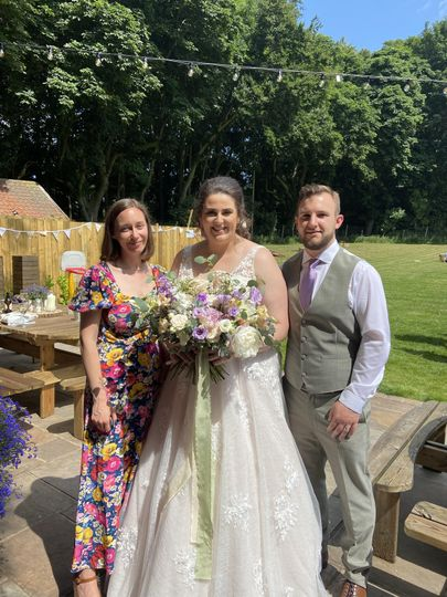 A wedding at Wold View Farm