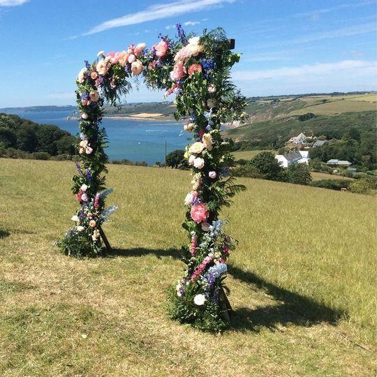 Wurzell Wedding Arch