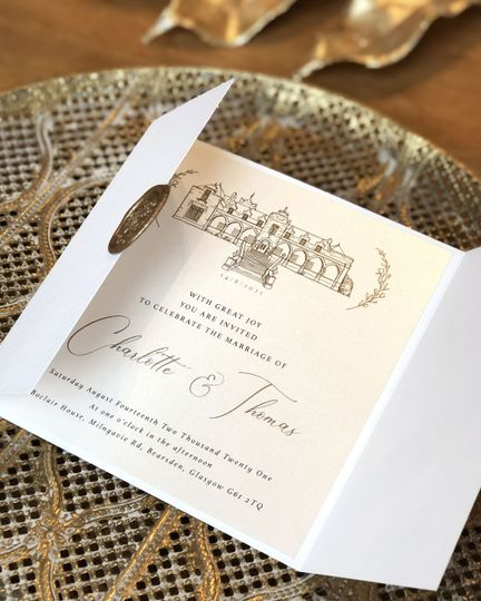 Boclair House Invitations
