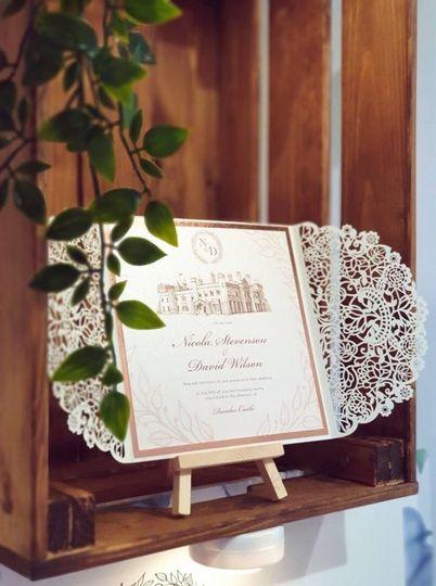 Scottish Wedding Invitations