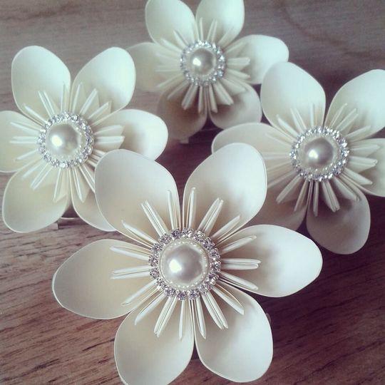 Origami buttonhole