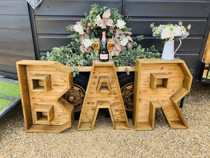 Handmade Bar Sign