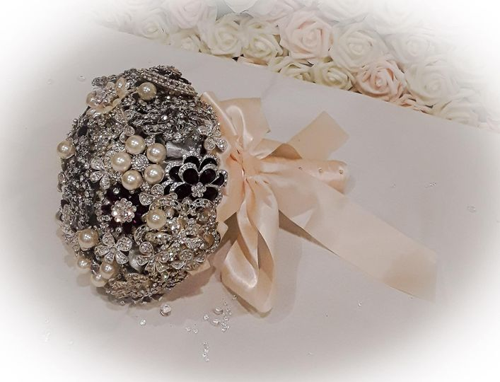 1 of our brooch bouquets