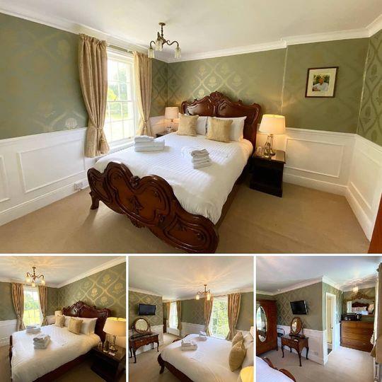 Lord Snowdon Room at Plas Dina