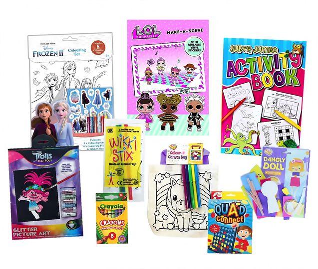 Themed activity packs