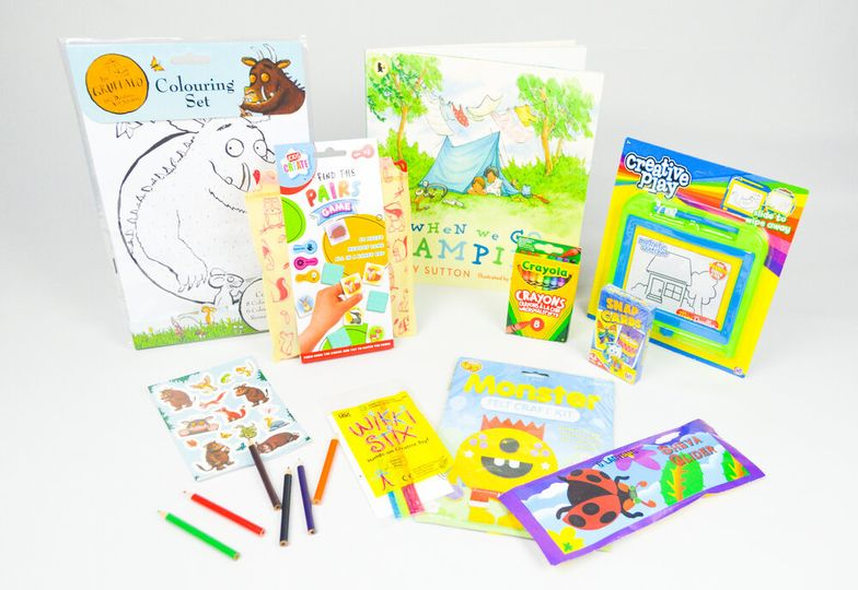 Fun wedding activity pack for kids