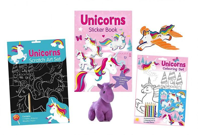Unicorn themed activity pack 3+