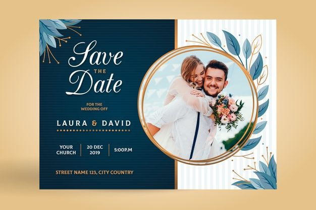 Edited save-the-date cards