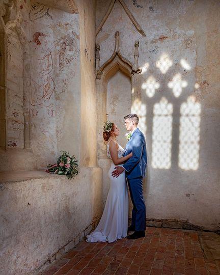 The chapel at Bradwell Abbey